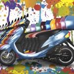 ヒロシマモーターズの作る未来の乗り物「電動原付バイク」